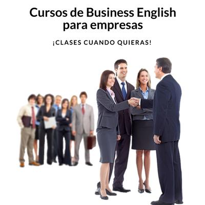 Cursos de Business English para empresas