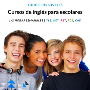 Cursos de Inglés para escolares